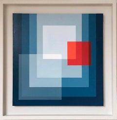 Díptico II - Abstract Geometric Painting, Contemporary, Art, Salvador Santos
