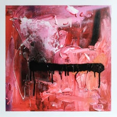 ROW3BL - Expressionist Painting, Acrylic, Canvas, 21st Century, Sebastian Roese