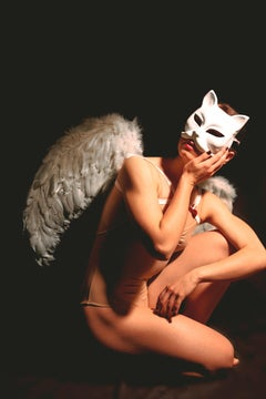 Identity I - Fine Art Photography, Ballet, Cat, Contemporary, Art, Pamela Pi