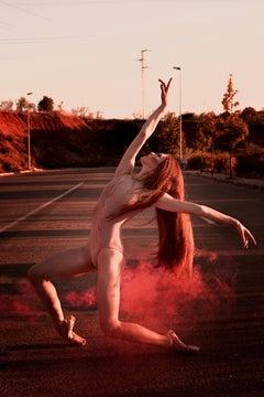 Thirties II - Fine Art Photography, Ballet, Pink, Contemporary, Art, Pamela Pi