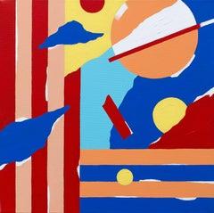 Abstract 148 - Abstract Painting, Landscape, Contemporary, Art, Mireia Ruiz