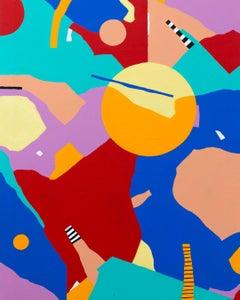 Abstract 147 - Abstract Painting, Landscape, Contemporary, Art, Mireia Ruiz