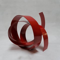 Corbant 35 - Abstract, Outdoor Sculpture, Contemporary, Art, Red, Rafael Amorós