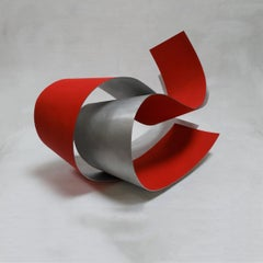 Acull 46 - Abstract, Outdoor Sculpture, Contemporary, Art, Red, Rafael Amorós