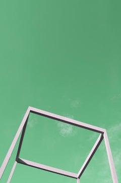 Cube - Fine Art Photography, Landscape, Green, Contemporary, Art, Jey Alonso