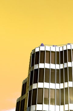 Wave - Fine Art Photography, Landscape, Yellow, Contemporary, Art, Jey Alonso