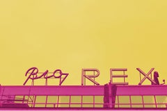 Rex II - Fine Art Photography, Landscape, Yellow, Contemporary, Art, Jey Alonso