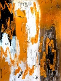 Impro VIII - Abstract Painting, Oil, Canvas, Contemporary, Art, Antonio Santafé