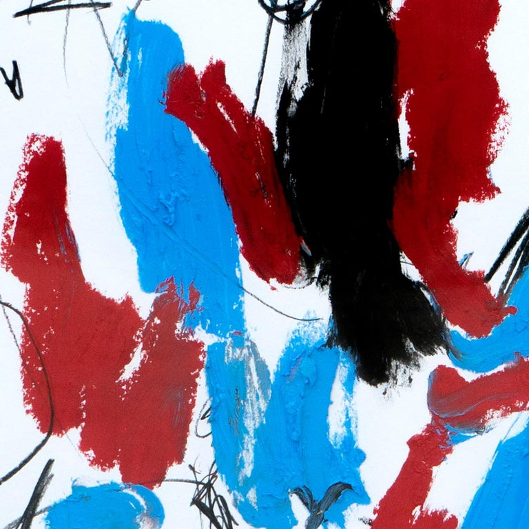 Hallazgo IX - Abstract Painting, Oil, Paper, Contemporary, Art, Antonio Santafé For Sale 1