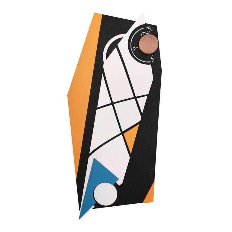 Evolutionary #10 - Abstract Sculpture, Wood, Acrylic, Geometric, Acacio Viegas - Mixed Media Art by Acacio Viegas