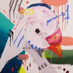 Herencias Detail 7 - Painting, Mixed Media, Contemporary, Alejandra de la Torre