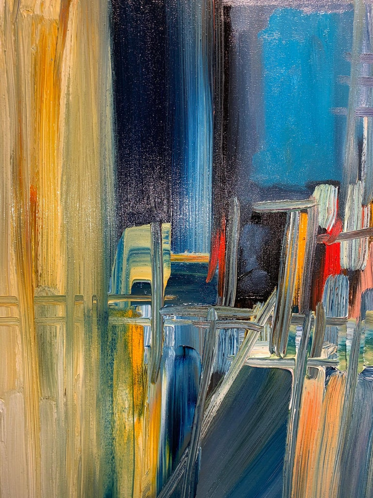 Magic Space - Bruno Cantais - Oil on canvas - Modern art - 21 th century  For Sale 5