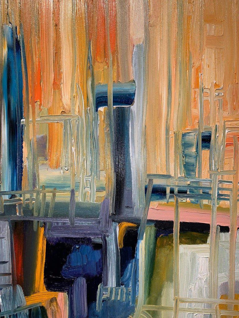 Magic Space - Bruno Cantais - Oil on canvas - Modern art - 21 th century  For Sale 4