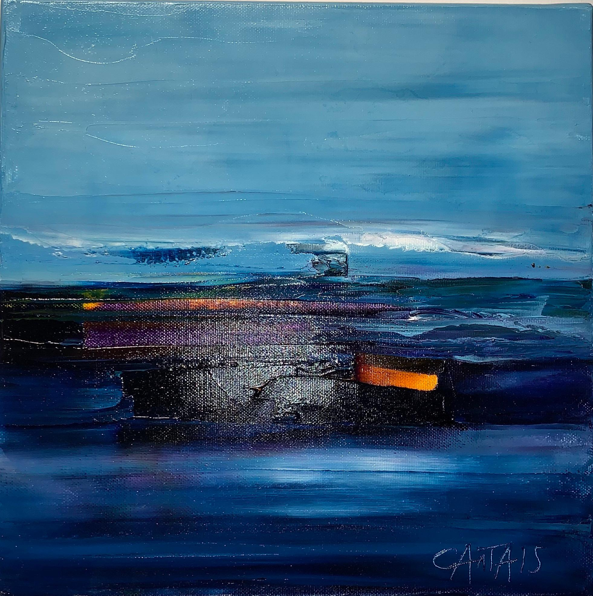 Just Travel - Bruno Cantais - Oil on canvas - Modern art - 21 th century