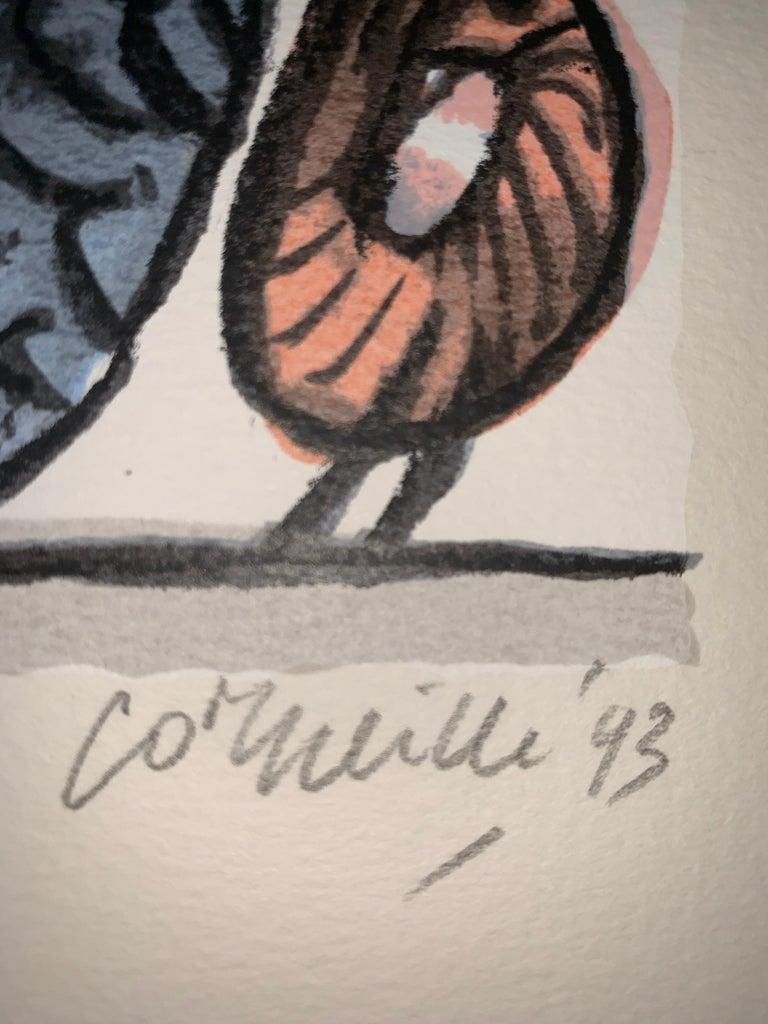 Les Mémoires de Bali II - Cobra, 20th century, 31/200, Portfolio 3 screen print For Sale 4