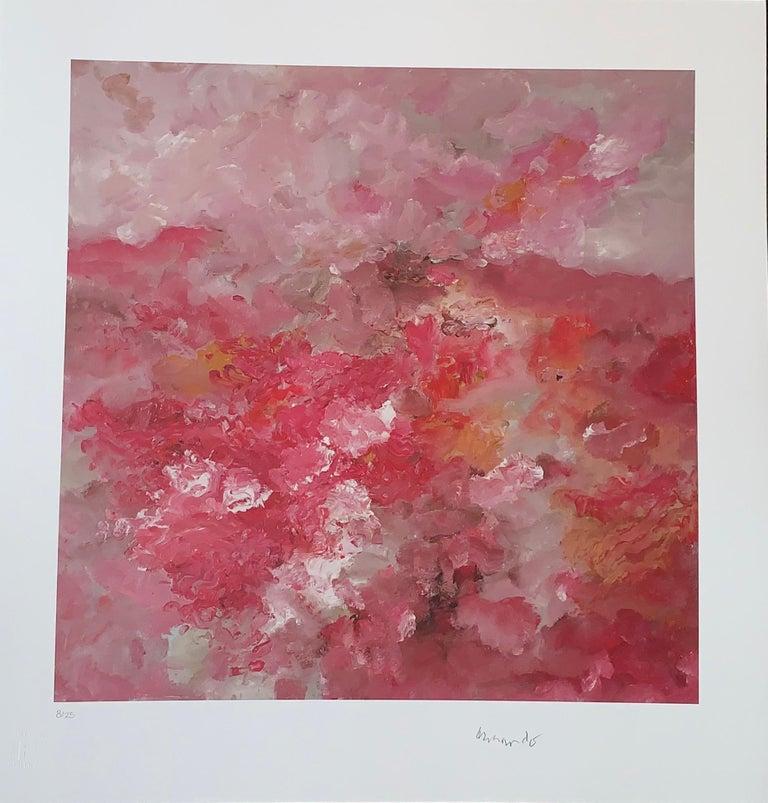 Landschaft  - Giclee - 2018 - Armando - hand-signed - Edition: 25 - 2018 - Abstract Print by Armando