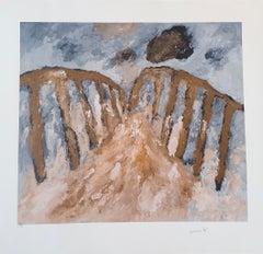 The Bridge   - Giclee - 2017 - Armando - hand-signed - Editie 30 -