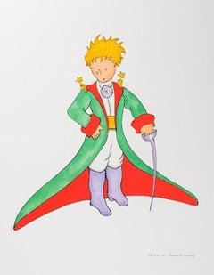 Le Petit Prince En Grand Manteau - Antoine De Saint-Exupéry