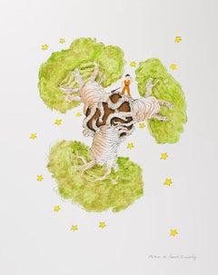 Le Petit Prince et Les Baobabs - Antoine De Saint-Exupéry