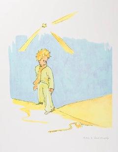 Le Petit Prince et Le Serpent - Antoine De Saint-Exupéry