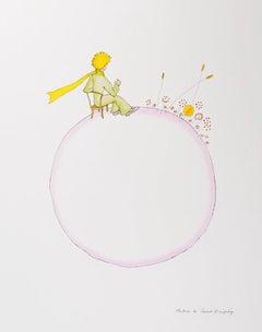 Le Petit Prince et Le Coucher De Soleil - Antoine De Saint-Exupéry