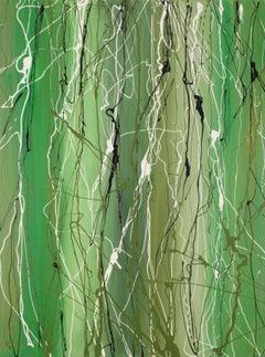 Als de lente komt - 80  x 60 cm - 2016/14 - acrylic paint on canvas