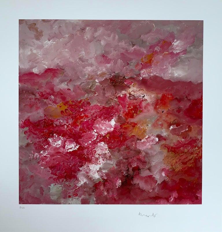 Landschaft  - Giclee - 2018 - Armando - hand-signed - Edition: 25 - 2018 - Print by Armando