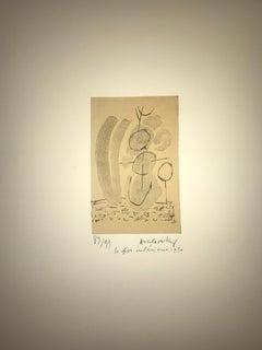 Le fou intérieur - Litho - handsigned - 1950 - numbered - edition 89/99