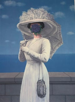 La Grande Guerre - 20th Century, Surrealist, Lithograph, Figurative Print