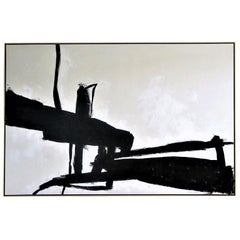 """Equilibrium"" Original Painting, 9 ft x 6 ft"