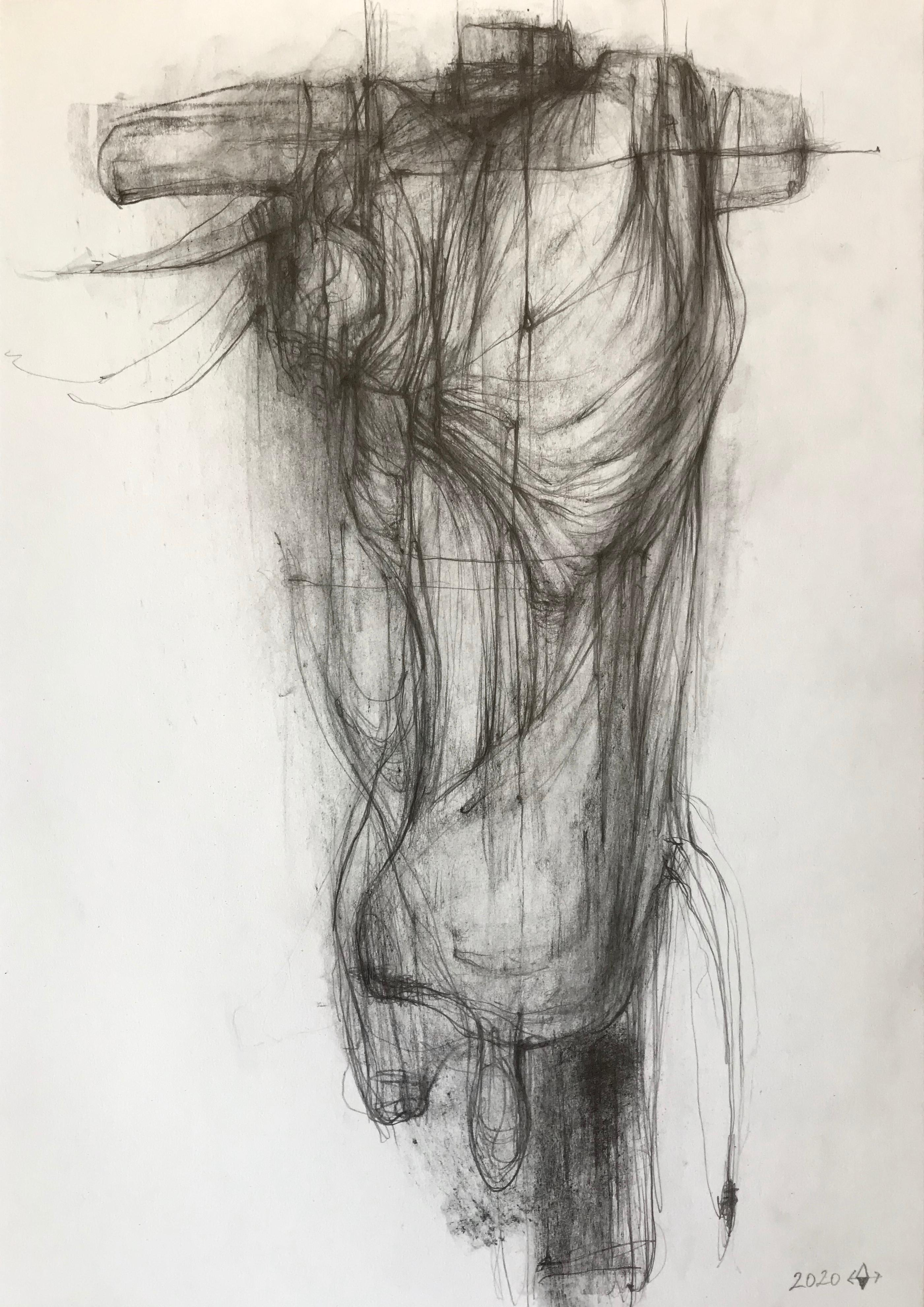 The Bull II- expressive line drawing