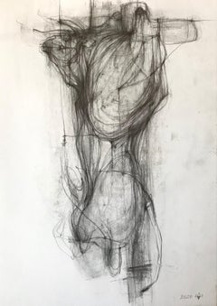 The Bull III - expressive line drawing