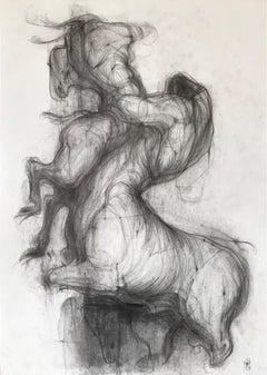 Hot afternoon (minotaur, centaur) - expressive line drawing