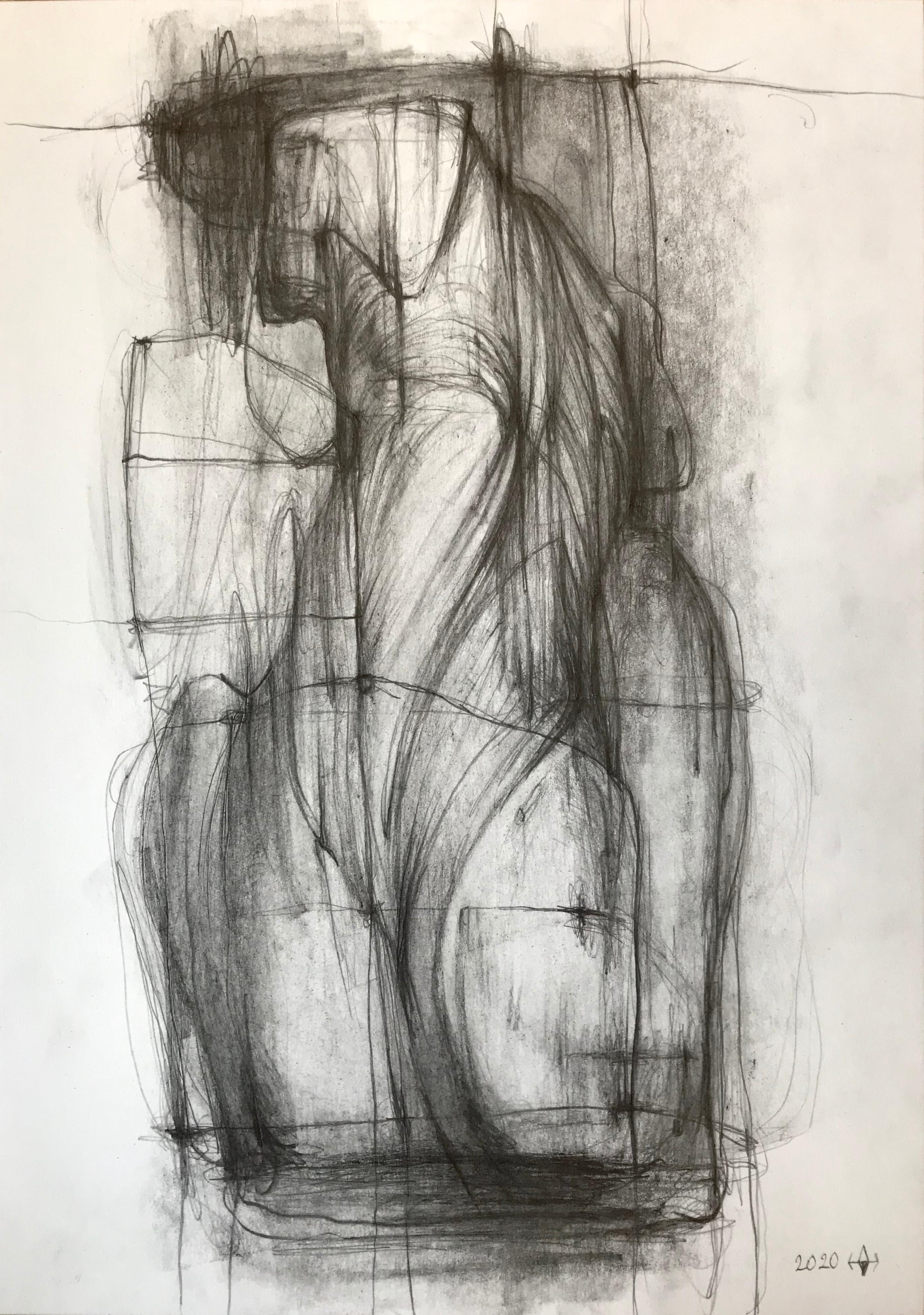 The Body 15- expressive line drawing