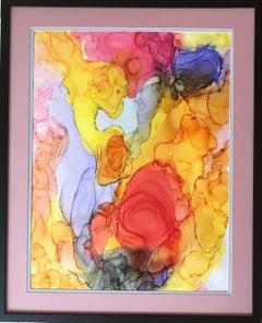 Iguazu-made in orange, yellow, red,blue, pink, green