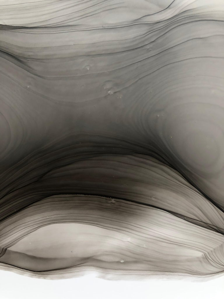 My little puppy-abstraction art, made in black and white, grey color 1