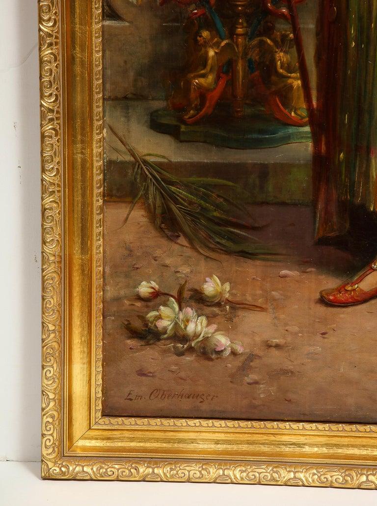 Emanuel Oberhauser (Austrian, 1854 - 1919) Full Length