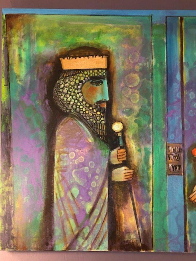 Nasser Ovissi, (Iranian, Born 1934)