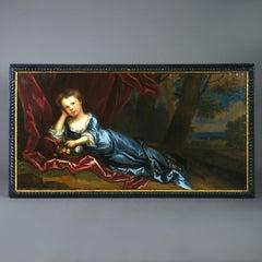 Charles D'Agar (1669-1723) Portrait of Margaret Godolphin (b.1708)