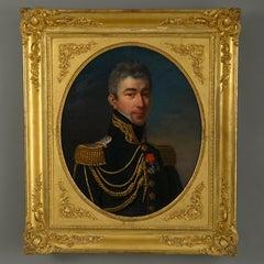 Josephine de Gallemant (fl.1800-1835) Portrait of a French Lieutenant-Colonel
