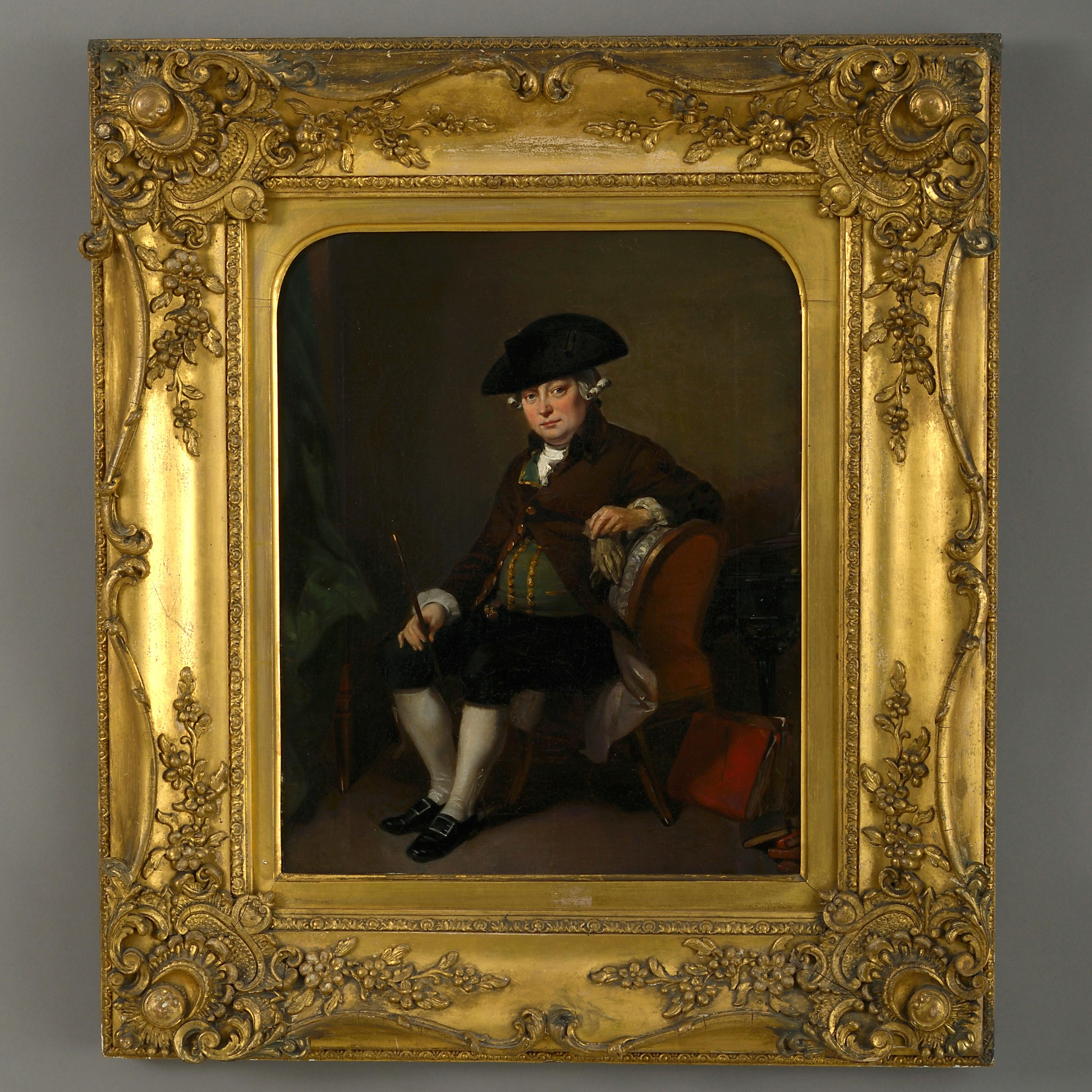 Follower of Samuel de Wilde, Portrait of an Actor in Character