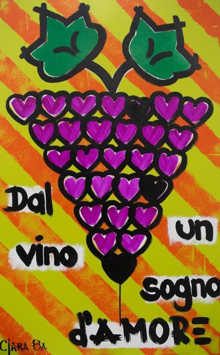 Un Sogno D' Amore - Mixed Media Art by Clara Ochoa