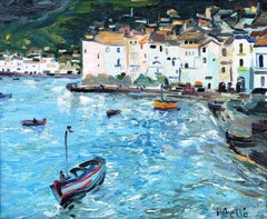 Joan Abello Mati a Cadaques - original oil canvas painting