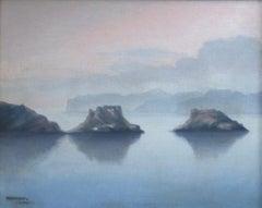 Casademont le vieux seascape Cadaques Spain oil painting