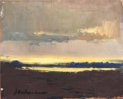 Spanish Costa Brava original oil on canvas painting