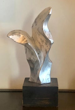 Abstract Sculpture Mid 20th Century Modern Non Objective Biomorphic Plaster WPA