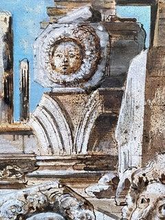 """Three Medusas,"" Eugene Berman, Surrealism, Greek Still Life"
