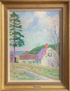 """Wellfleet, Cape Cod,"" Gerrit Beneker, American Impressionism, Provincetown"