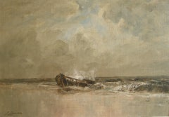 """Shipwreck, Palm Beach, Florida,"" Joseph Jefferson, Marine Seascape"