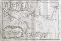 Antique Map of Argentina and Uruguay, La Plata, Buenos Aires, Montevideo